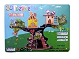 #4: Shararat Toy Tree house 3D Super DIY Puzzle Toy For Kids Creative & Attention Building
