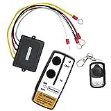 Dolity Fernbedienung Kit Windenzubehör, drahtlose Steuerung für 12 Volt Anhänger, Hydraulikpumpe
