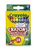 Crayola - Loisir Créatif - 24 Crayons À La Cire