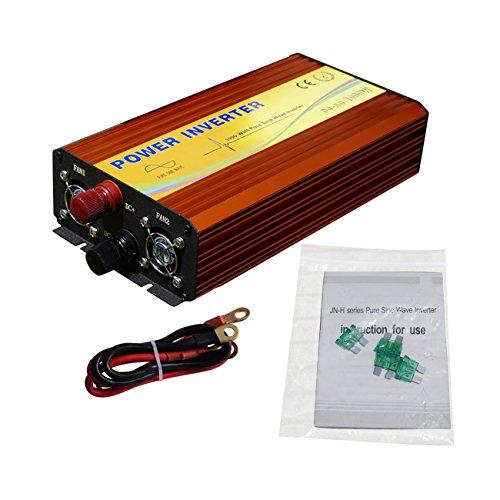 eco-worthy 1 KW 12 V 220 V DC Inverter Pure sinusoïdale Off Fonction MPPT Inverter W/Grille
