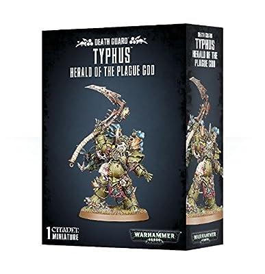 Typhus - Héraut du Dieu de la Peste - Death Guard 43-53 - Warhammer 40,000