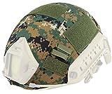 wosport rápido casco para Airsoft táctico militar camuflaje casco cubierta, DM