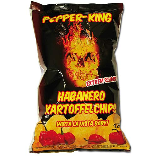 Pepper-King - Habanero Kartoffelchips - 125g