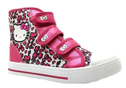 Hello Kitty Peony, Sneaker bambine Rosa rosa, Rosa (rosa), 1 UK