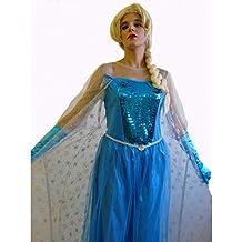 Frozen - Disfraz elsa premium (adulto), L