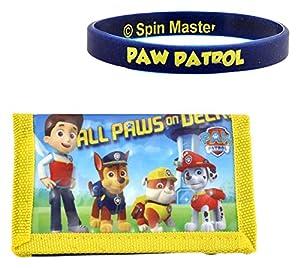 CORIEX n91554AS-Paw Patrol Cartera, Fan de Pulsera, Varios Juguetes
