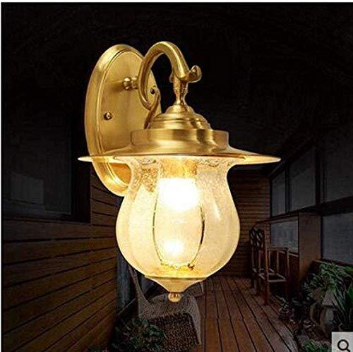 Meixian applique da parete faretti illuminazione semplicemente sottotetto lampada d'antiquariato in ferro battuto balcone muro semplice retrò