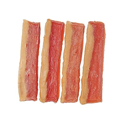 Natural Nosh Dog Treats - Chicken & Cheese Bacon Shaped Treats 100g 2