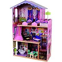 KidKraft 65082 Casa de muñecas My Dream Mansion de madera con 12 accesorios
