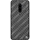 Nillkin Gradient Twinkle Cover Case For OnePlus 7 Pro - Black Silver