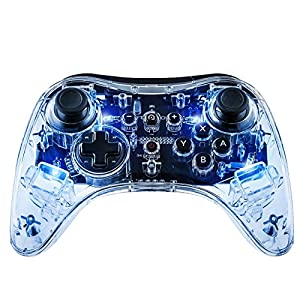 Afterglow Wireless Controller Transparent, Blau