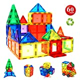60pcs Magnetic Tiles Set - Premium Quality Educational Toys For Kids