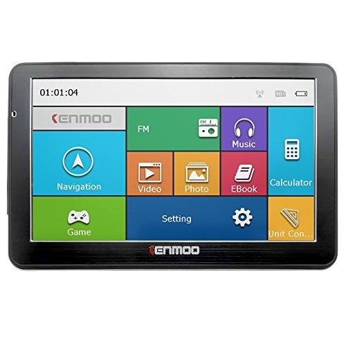 Kenmoo 8 GB 7 pulgadas TFT LCD pantalla táctil GPS