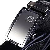 Teemzone Elder Jeansgürtel Vollrindleder Automatik Kurzbar Hosengürtel Gürtel für Herren