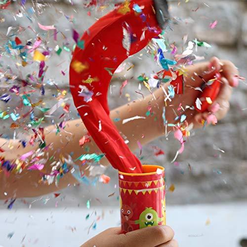 Oye Happy Glitter Bomb Party Popper Prank Item