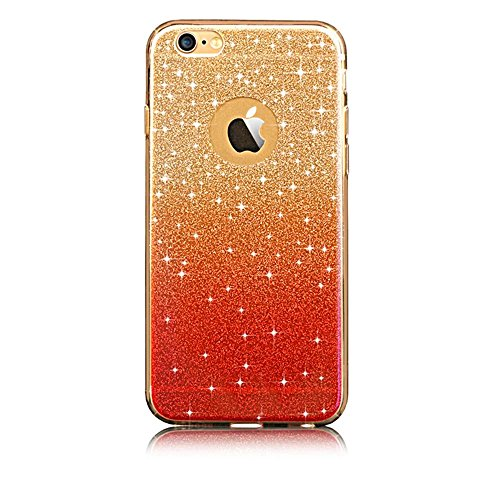 iPhone 6 6S Hülle, Sunroyal iPhone 6 6S Hülle TPU Case Schutzhülle Silikon Gel Crystal Case Durchsichtig,Glänzend Glitzer Kristall TPU Silikon Schutz Handy Hülle Case Tasche Etui Bumper für iPhone 6 6 Pattern 11