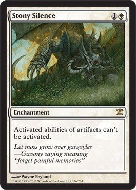 Magic: the Gathering - Stony Silence - Innistrad - Foil by Magic: the Gathering