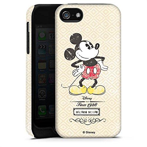 Apple iPhone X Silikon Hülle Case Schutzhülle Disney Mickey Mouse Classic Merchandise Geschenke Tough Case matt