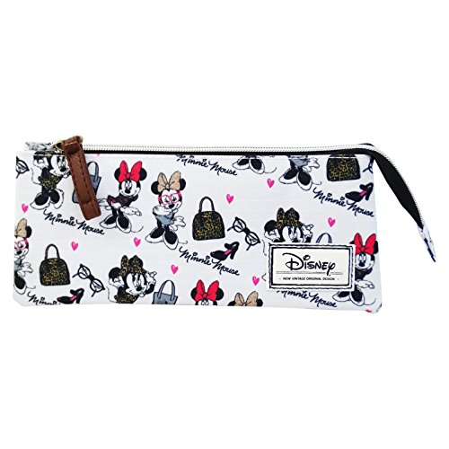 Disney Minnie Maus Fashion Schulset Federmappe Mädchen Schule Kinden (M H Versace)