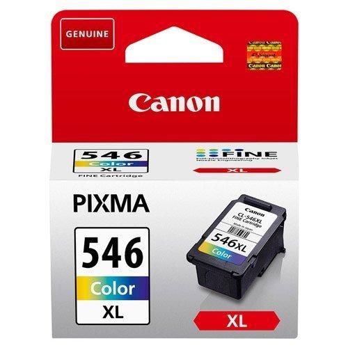 1x Original Canon Tintenpatrone CL 546XL CL546XL CL-546XL 8286B001 - Color - für Pixma MX 495