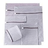 5 Stück Wäschenetze Wäschesack Wäschebeutel mit Reißverschluss Wäschetasche für Waschmaschine Ideal für BH, Feinwäsche, Socken, Waschmaschine ,Wäsche, Feinwäsche Spezielle Wäsche, Wäscheschutz, Schonende Wäsche (Grau)