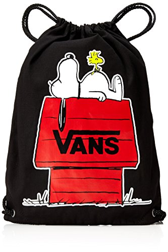 Imagen de vans peanuts benched novelty backpack  tipo casual, 44 cm, 12 liters, negro black