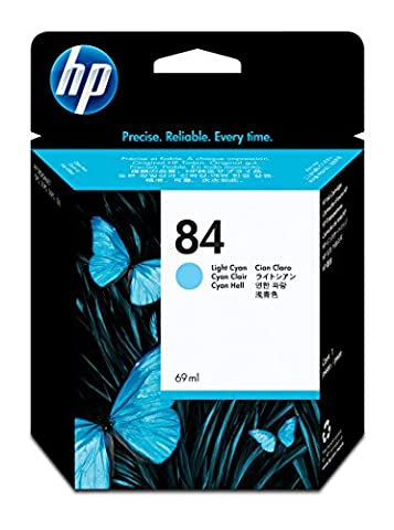 HP C5017A - NO.84 LIGHT CYAN INK CARTRG 69ML