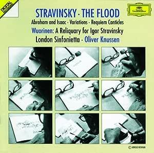 Stravinsky-The Flood-Knussen