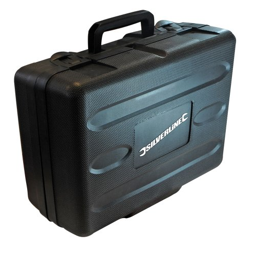 Silverline 124799 Silverstorm Plunge Router, 1/2-inch, 2050 W
