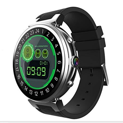 GAOXP Smart Watch 2 + 16g Männer und Frauen 3G Business GPS Payment Pixel 5 Millionen Aktien Android 5.1,Silver