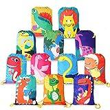 BeebeeRun Zaino con Coulisse Bambini,Sportiva sacche Sacche da Palestra Drawstring Bag Sacchetto del per Bambini Festa di Compleanno(12 Pezzi)