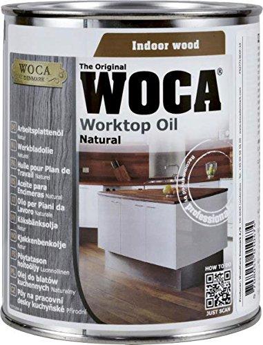 WOCA Arbeitsplattenöl, 0,75 L, natur, 527713AA