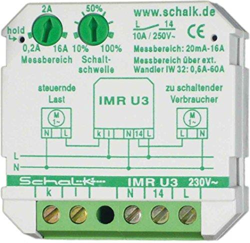 Schalk Strommessrelais IMR U3 230VAC, 0,1-16A UP Stromüberwachungsgerät 4046929301015 -