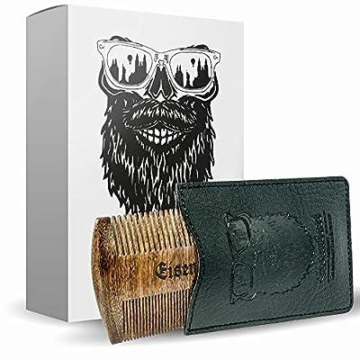 Bartkamm doppelseitig Holz von