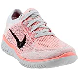 Nike Damen Free Run Flyknit 2018 Laufschuhe, Grau (Crimson Pulse/Black-800), 40 EU