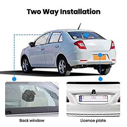AUTO-VOX-FHD-1520P-Dual-Dashcam-Autokamera-Vorne-und-Hinten-mit-AHD720P-Rckfahrkamera-24-LCD-Bildschirm-Nachtsicht-G-Sensor-Loop-Aufnahme-Bewegungserkennung-Parkberwachung-WDR