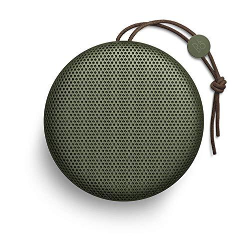 Bang & Olufsen 1297862 Beoplay A1 Bluetooth Lautsprecher (Wetterfest) moos grün Digital Docking Speaker System