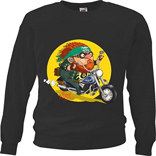 Reifen-Markt Sweatshirt Damen Motiv-600587 Größe 2XL Farbe Schwarz Druck 600587