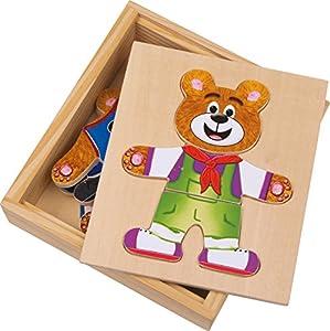 Legler - 2019621 - Puzzle Classic - A Bear Dress - Nico