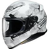 Shoei NXR Full Face casco de moto Ruts TC 6color blanco