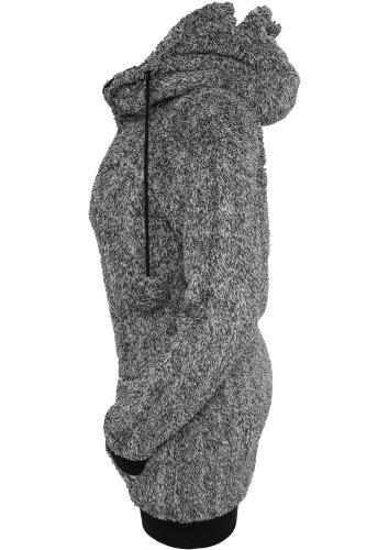 Urban Classics - Sweat à capuche - Femme Noir - Noir