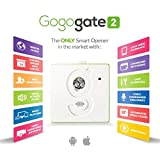 Gogogate2 with Wired Sensor For Gates & Shutters, Open, Close, & Monitor Gate