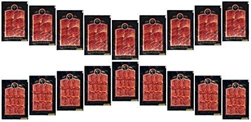 Degustazione di Lot. Prosciutto iberico e lonza di maiale iberico. - Maiale Cotto
