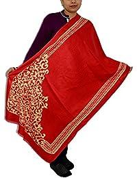 Sanvitta's Jamawar Print Viscose Women's Stole Shawl Wrap Dupatta - B078TFCYS5