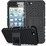 ykooe iPhone 5 Hülle, (TPU Series) Handyhülle iPhone 5 Schutzhülle Silikon Handys Schutz Hülle für iPhone 5 5S SE (Schwarz)