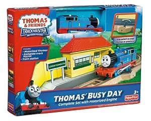 Thomas The Train: Trackmaster Rides The Rails Starter Set - Imagination Fuels The Adventure Jouets, Jeux, Enfant, Peu, Nourrisson