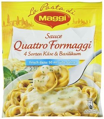 Maggi Lust auf Süden Sauce Quattro Formag, 15 er Pack (15 x 250 ml) von Maggi auf Gewürze Shop