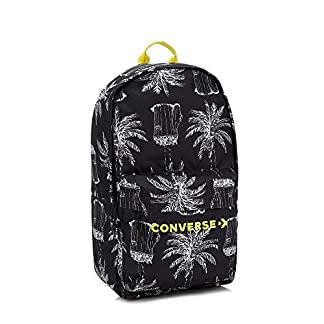 Converse Spring Summer Collection Mochila Tipo Casual, 46 cm, 26 litros, Negro