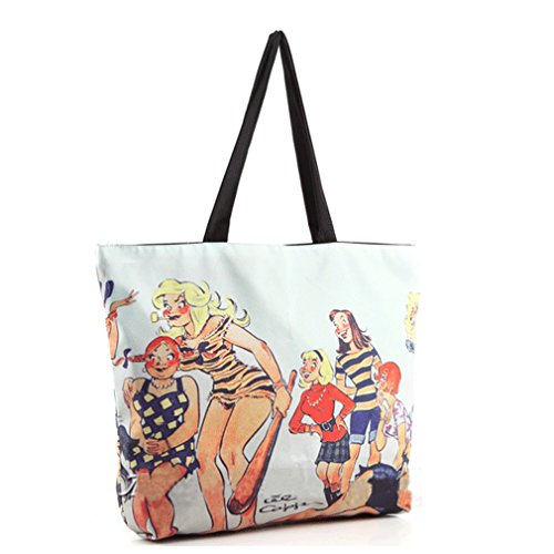 THENICE, Borsa a spalla donna Multicolore multicolore Medium Animation