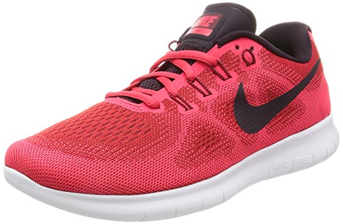 Nike Damen Wmns Free RN 2017 Laufschuhe, Rot (University Red/Port Wine/Solar Red/Light Thistle),...